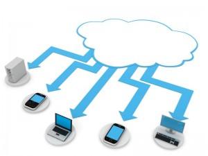 Синхронизация через облачный сервис