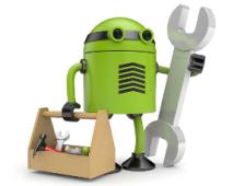андроид с инструментом