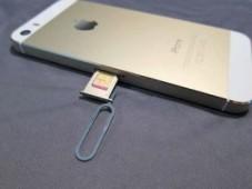 вставить сим-карту в айфон
