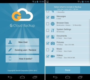 GCloud Backup