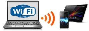 wifi с ноутбука