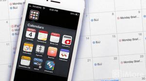 Приложение Calendar на iPhone